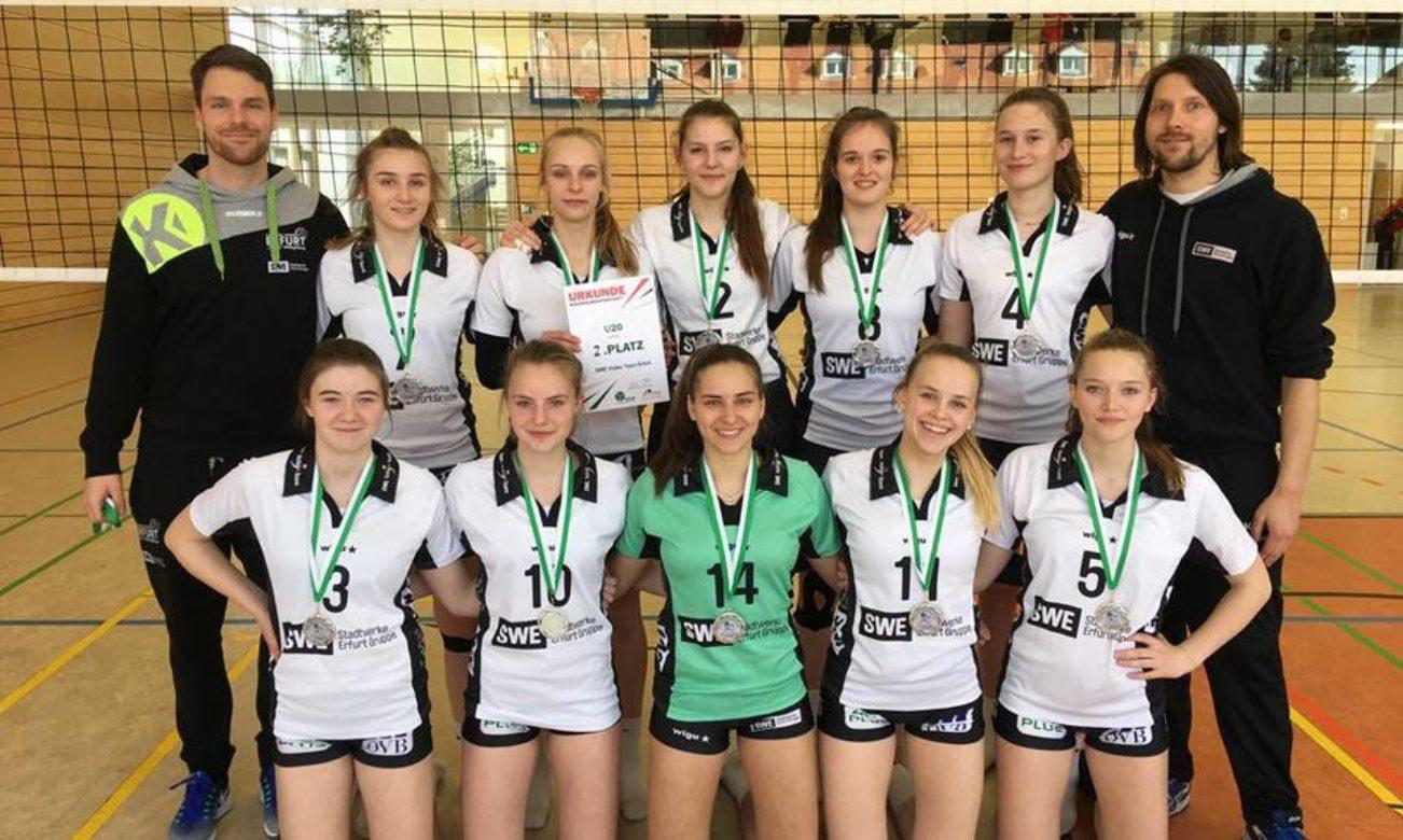 U20 zur Deutschen Meisterschaft