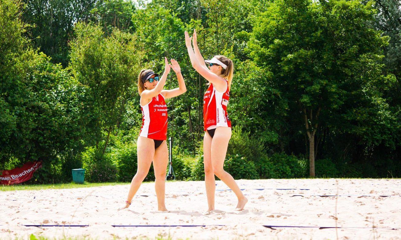 Eyleen gewinnt mit Jule U18-Beachtitel